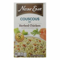 Near East Couscous Mix - Herb Chicken - Case of 12 - 5.7 oz. - Case of 12 - 5.7 OZ each
