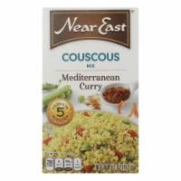 Near East Couscous Mix - Mediterranean Curry - Case of 12 - 5.7 oz. - Case of 12 - 5.7 OZ each