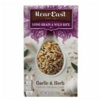 Near East Long Grain & Wild Rice - Garlic - Case of 12 - 5.9 oz - Case of 12 - 5.9 OZ each