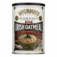 McCann's Irish Oatmeal Quick and Easy Steel Cut - Case of 12 - 24 oz. - Case of 12 - 24 OZ each