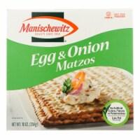Manischewitz - Matzo Egg and Onion - Case of 12 - 10 oz. - Case of 12 - 10 OZ each