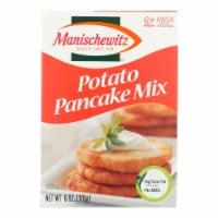Manischewitz - Potato Pancake Mix - Case of 12 - 6 oz. - Case of 12 - 6 OZ each