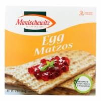 Manischewitz - Egg Matzo - Case of 12 - 12 oz. - Case of 12 - 12 OZ each