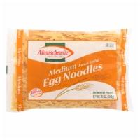 Manischewitz - Egg Noodles - Medium - Case of 12 - 12 oz. - Case of 12 - 12 OZ each