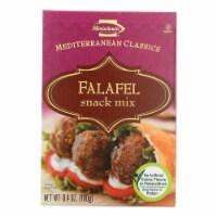 Manischewitz - Falafel Mediterranean Snack Mix - Case of 12 - 6.4 oz. - Case of 12 - 6.4 OZ each
