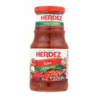 Herdez Salsa - Casera Medium - Case of 12 - 16 oz.