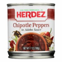 Herdez Peppers - Chilpotle - Case of 12 - 7 oz. - Case of 12 - 7 OZ each