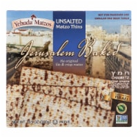 Yehuda - Matzo Thins Unsalted - Case of 12 - 10.5 OZ - Case of 12 - 10.5 OZ each