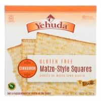 Yehuda Cracker - Matzo Style - Cinnamon - Case of 12 - 10.5 oz - Case of 12 - 10.5 OZ each