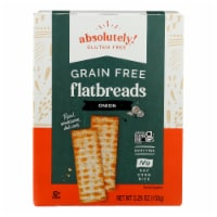 Absolutely Gluten Free - Flatbread - Toasted Onion - Case of 12 - 5.29 oz. - Case of 12 - 5.29 OZ each