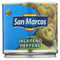 San Marcos Peppers - Nacho Jalapeno - Case of 12 - 11 oz - Case of 12 - 11 OZ each