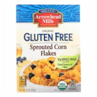 Arrowhead Mills - Organic Gluten Free Cereal - Sprouted Corn Flakes - Case of 6 - 10 oz