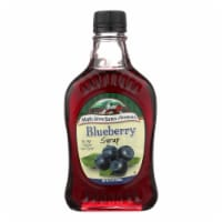 Maple Grove Farms - Blueberry Maple Syrup - Case of 12 - 8.5 Fl oz.