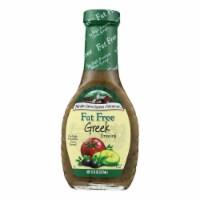 Maple Grove Farms - Fat Free Salad Dressing - Greek - Case of 12 - 8 oz.