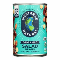 Westbrae Foods Organic Salad Beans - Case of 12 - 15 oz. - Case of 12 - 15 OZ each