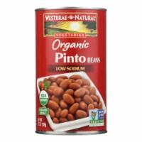 Westbrae Natural Pinto Beans - Organic - Case of 12 - 25 oz. - Case of 12 - 25 OZ each