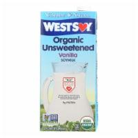 Westsoy Organic Vanilla - Unsweetened - Case of 12 - 32 Fl oz. - Case of 12 - 32 FZ each