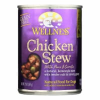 Wellness Pet Products Dog Food - Chicken with Peas and Carrots - Case of 12 - 12.5 oz. - Case of 12 - 12.5 OZ each
