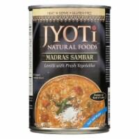 Jyoti Cuisine India Madras Sambar - Case of 12 - 15 oz. - Case of 12 - 15 OZ each