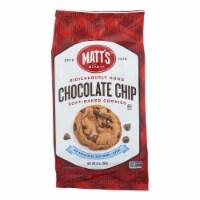 Matt's Bakery Chocolate Chip Soft-Baked Cookies  - Case of 6 - 14 OZ