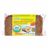 Mestemacher Natural Rye n Spelt Bread - Whole Grain Bread w Unripe Spelt Grains-12Case-17.6oz - Case of 12 - 17.6 OZ each