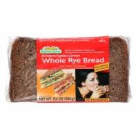 Mestemacher Bread Bread - Rye - Whole - 17.6 oz - case of 12 - Case of 12 - 17.6 OZ each
