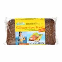Mestemacher Bread Bread - Sunflower Seed - 17.6 oz - case of 12 - Case of 12 - 17.6 OZ each