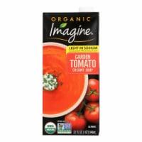 Imagine Foods Garden Tomato Soup - Low Sodium - Case of 12 - 32 Fl oz. - Case of 12 - 32 FZ each
