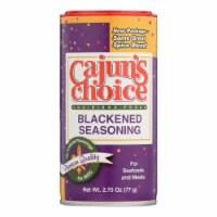 Cajuns Choice Blackened Seasoning  - Case of 12 - 2.75 OZ - Case of 12 - 2.75 OZ each