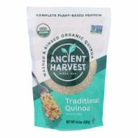 Ancient Harvest Quinoa Organic Traditional Whole Grain - Gluten Free - Case of 12 - 14.4 oz