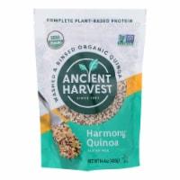 Ancient Harvest Organic Quinoa - Tri-Color Harmony Blend - Case of 12 - 14.4 oz