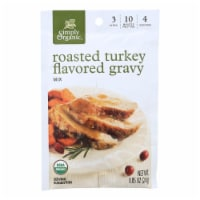 Simply Organic Roasted Turkey Flavored Gravy Seasoning Mix - Case of 12 - 0.85 oz. - .85 OZ