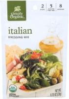 Simply Organic Italian Salad Dressing Mix - Case of 12 - 0.7 oz. - .7 OZ
