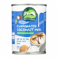 Nature's Charm Evaporated Coconut Milk - Case of 6 - 12.2 oz. - 12.2 OZ