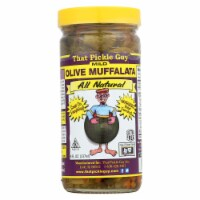 That Pickle Guy Olive Muffalata - Case of 12 - 8 fl oz - Case of 12 - 8 FZ each