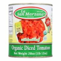 La San Marzano - Tomatoes Diced - Case of 12-28 OZ - Case of 12 - 28 OZ each