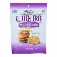 Miltons Gluten Free Baked Crackers - Multi Grain - Case of 12 - 4.5 oz. - Case of 12 - 4.5 OZ each