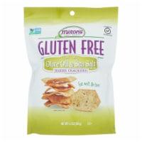 Miltons - Cracker Olive Oil Gluten Free - Case of 12 - 4.5 OZ - Case of 12 - 4.5 OZ each