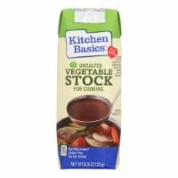 Kitchen Basics Vegetable Stock - Case of 12 - 8.25 Fl oz.