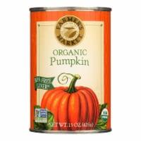 Farmer's Market Organic Pumpkin - Canned - Case of 12 - 15 oz. - Case of 12 - 15 OZ each