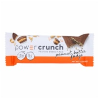 Power Crunch Bar - Peanut Butter Fudge - Case of 12 - 1.4 oz - Case of 12 - 1.4 OZ each