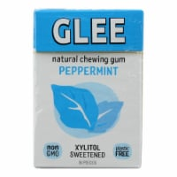 Glee Gum Chewing Gum - Refresh Mint - Sugar Free - Case of 12 - 16 Pieces - Case of 12 - 16 PC each