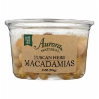 Aurora Natural Products - Macadamia Nuts Tuscan Herbal - Case of 12 - 8 OZ - Case of 12 - 8 OZ each