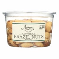 Aurora Natural Products - Raw Whole Brazil Nuts - Case of 12 - 9 oz. - Case of 12 - 9 OZ each