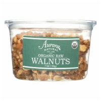 Aurora Natural Products - Organic Raw Walnuts - Case of 12 - 7 oz. - Case of 12 - 7 OZ each