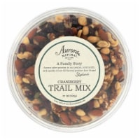 Aurora Natural Products - Trail Mix - Cranberry - Case of 12 - 21 oz. - Case of 12 - 21 OZ each