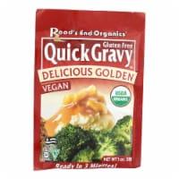 Road's End Organics Gravy Mix - Organic - Golden - 1 oz - Case of 12 - Case of 12 - 1 FZ each