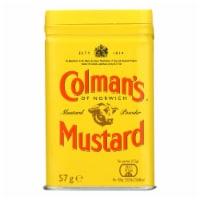 Colmans Dry Mustard Powder - 2 oz - Case of 12 - Case of 12 - 2 OZ each