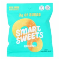 Smartsweets - Gummy Peach Rings - Case of 12 - 1.8 OZ - Case of 12 - 1.8 OZ each
