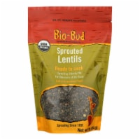 Shasha Bread - Lentils Sprouted - Case of 12 - 16 OZ